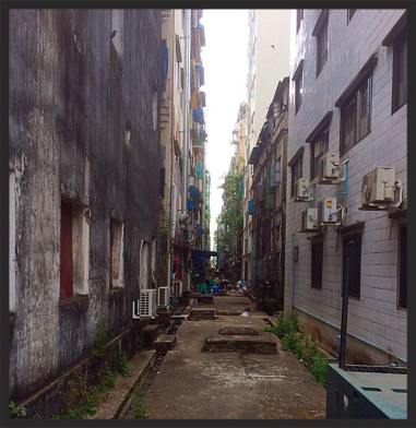 Side Street - Yangon