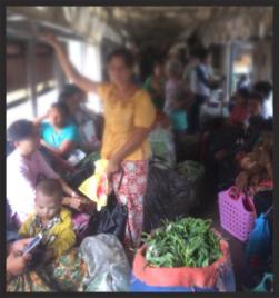 Betel Nut enroute to Yangon via the Circle Line