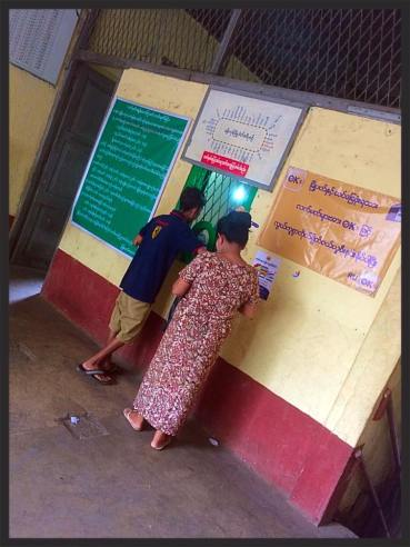 One of the Ticket Office's on the Yangon Circle Line