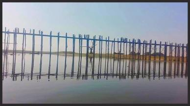 The Wooden Bridge at Mandalay